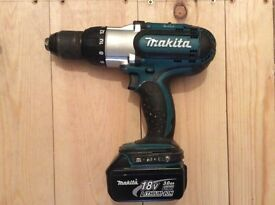 Makita BHP-451 Cordless Combi Drill with Makita Torch