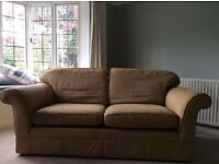 2 seater Marks and Spencer fabric sofa