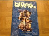 THE BLUES WHO'S WHO BOOK, 2003, good condition.