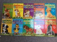 Set of 10 children's books animal rescue by Tina Nolan