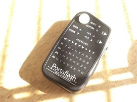 Flashmeter for studio and general photography. Portaflash flash meter.