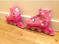 Girl's Hello Kitty Adjustable Roller Blades (13J to 3)