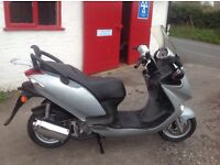 2006 Kymco 125 four stroke scooter