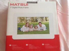 Matsuri 7 inch Photo Frame
