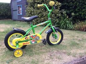 Child's Raleigh first bike