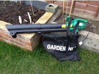 Garden leaf blower.