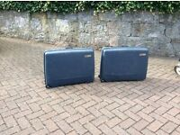 Delsey suitcases and vanity case