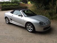 2003 MG TF SPORTS CONVERTIBLE -EXCELLENT SUMMER CAR - FULL M.O.T.