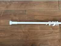 Free Extendable Shower Curtain Rail with rings