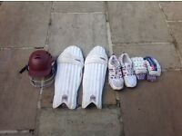 Youth Cricket gear