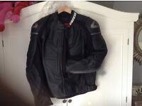 Dainese motobike leather jacket