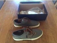 Ralph Lauren Grey canvas shoes