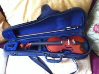 1/2 Size Beautiful Tone Violin - ONO