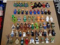 LEGO MINIFIGURES JOBLOT X 57