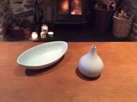 Lovely Exquisite Duck Egg Pot and Oval Dish