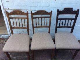 Dining chairs - £5 each