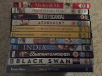 11 Assorted DVDs Excellent Condition Some never used