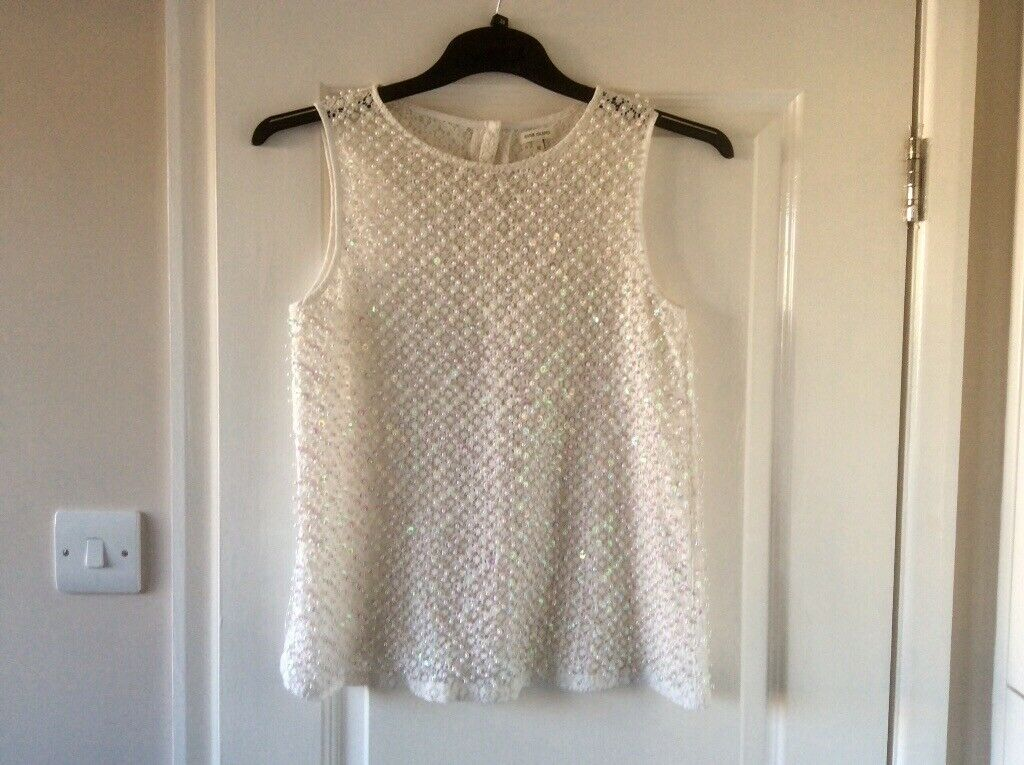 bfc0113a8 Bead   Sequin Top Size 12. Leigh-on-Sea