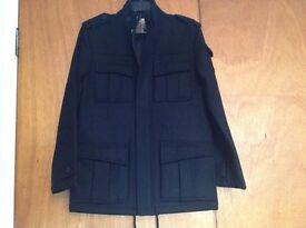 Men's Topman black jacket