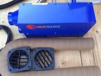 Propex Heatsource HS2000 12v Gas Interior Heater Complete Kit