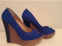 New look wedge shoes size 4