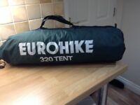 Eurohike 320 TS 3 Man Tent