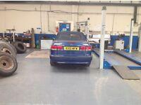 Saab 9.3 se turbo petrol 2ltr convertable