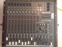 "full PA system? Mackie mixer CFX 12, Peavey, power amp PV2600, Peavey Bass bins 15"" 500 Watt,"