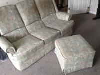 Parker knoll free sofa suite