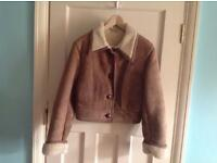 Ladies vintage sheepskin jacket