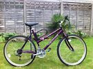 Ladies Venture Crystal  Mountain Bike 26 inch  wheels  18 gears