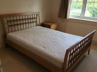 Oak Queen Size Bedframe