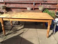 Pine Table seats 6