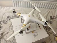 DJI Phantom 3 4K Drone, ND Filter - Carry Case + Extras