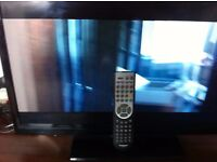 techwood 24in television with built in dvd and remote