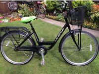 Ladies/Girls Black Minerva Bike excellent con fully serviced .