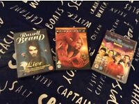 Selection of three Dvds