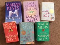 Marian Keyes book selection x 6
