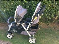 Chicco Double Pushchair ... EXCELLENT CONDITION...