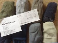 Mens soft top cotton socks