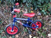 Spider-Man Childs 2 Wheel Bike 3 year old