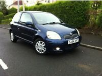 TOYOTA YARIS VVTI 54 PLATE SERVICE HISTORY, MOTED FOR 1 YR, NO ADVISORIES DRIVES LIKE NEW