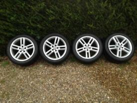Audi A6 alloy wheels and tyres