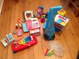 Pre school toy/game / book bundle