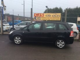 Vauxhall zafira 1.7 turbo diesel 7 seater 2010 60000 fsh ful year mot fullyserviced nice car
