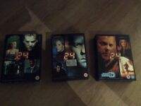 box sets of 24 from the tv series
