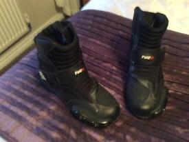 Men's motorcycle boots,