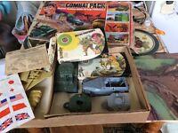 Vintage Airfix Combat Packs 1/32