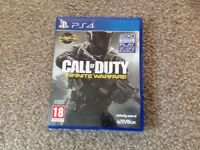 Call of duty- Infinite warfare PS4 with valid code to download the Bonus map
