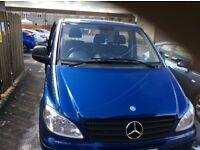 Mercedes Benz Vito, low road tax, full service history and 2 owners from new. Mot Dec 2017. No vat.